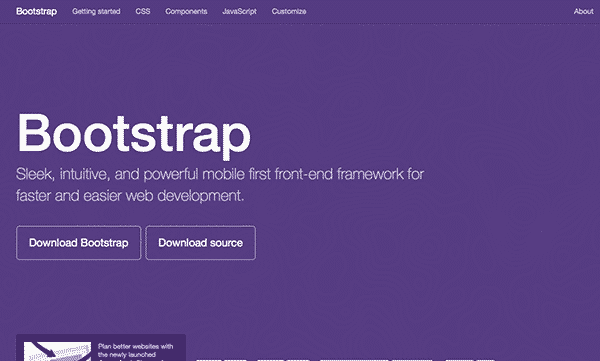 Bootstrap Tools for responsive web design