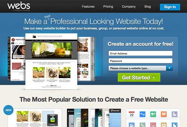 Webs Free Website Builder Web Design Blog
