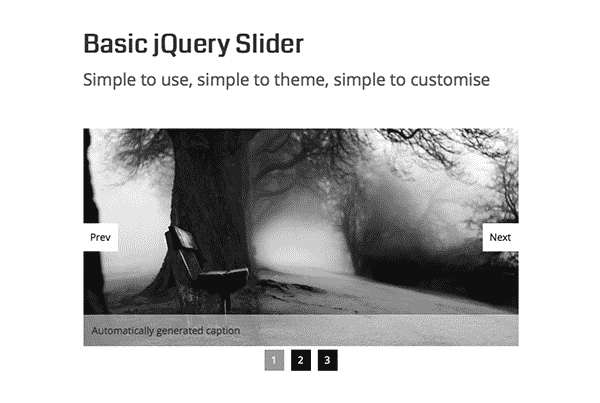 The top 10 free jQuery Sliders
