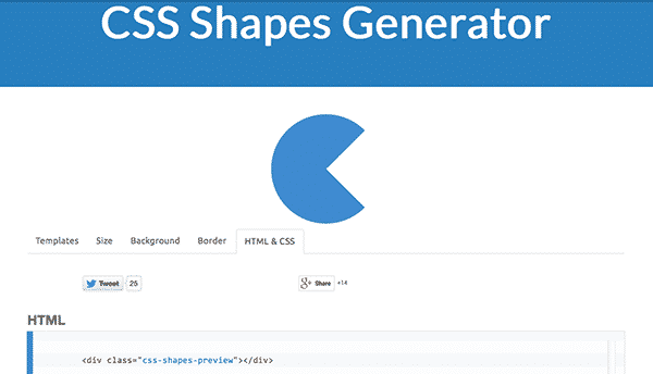 Css Shapes And Icon Generator - Imagez co
