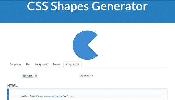 CSS generator for web designers