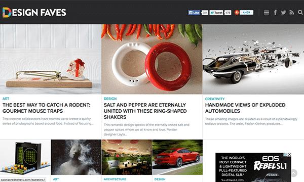 design faves for web designers