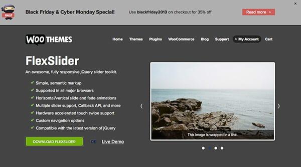 jQuery Plugins Flexslider