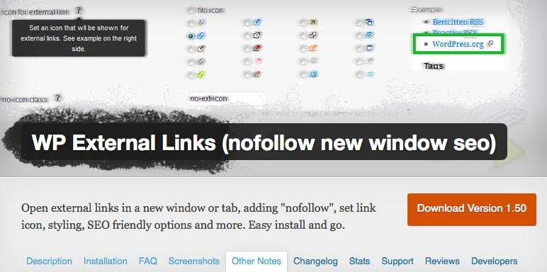 Change all Outbound Links to Nofollow