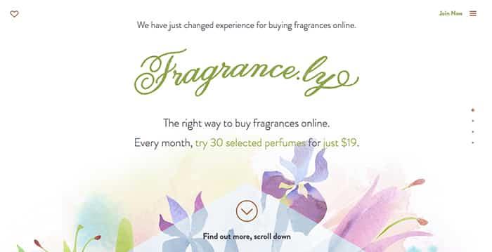design inspiration: fragrancely