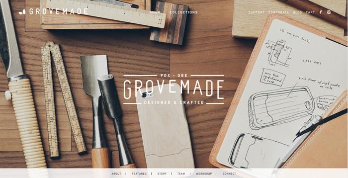 design inspiration: grove-made