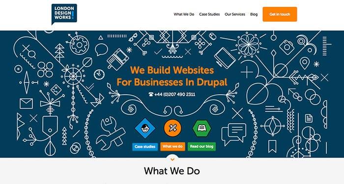 Web Design Inspiration: London Design Works
