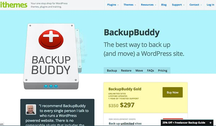 Wordpress Plug-ins: Backup Buddy