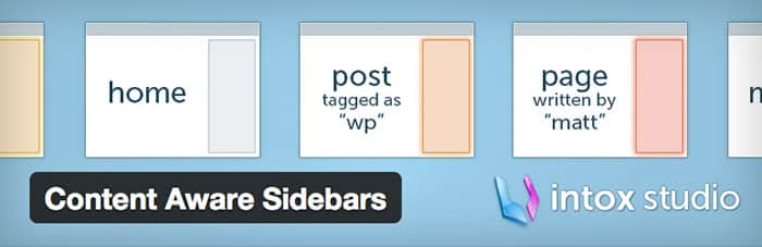 Wordpress Plug-ins: Content Aware Sidebars