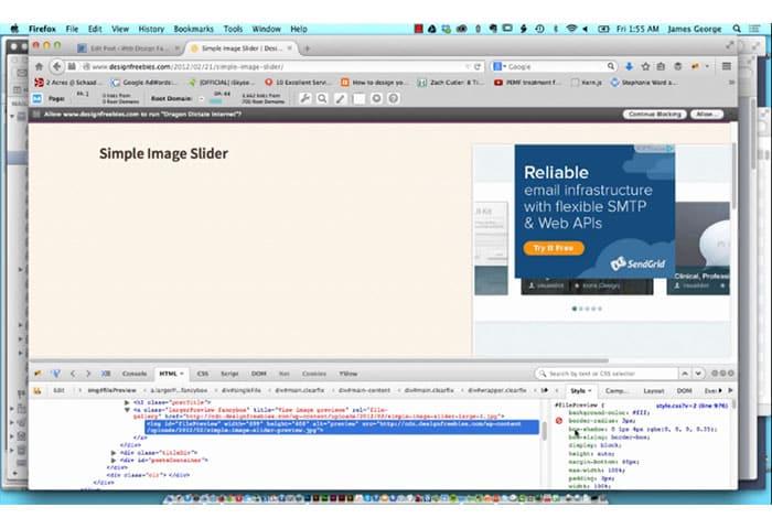 Diagnose CSS Problems With Firebug