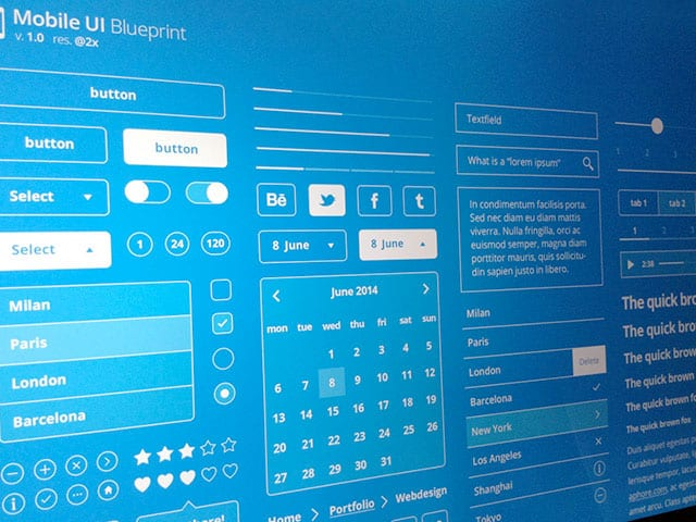 New UI Kits August 2014