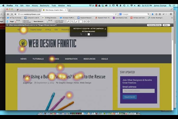 Free Heatmaps In Wordpress Web Design Blog