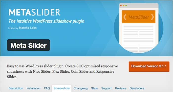 Free jQuery Slider Plugins meta-slider