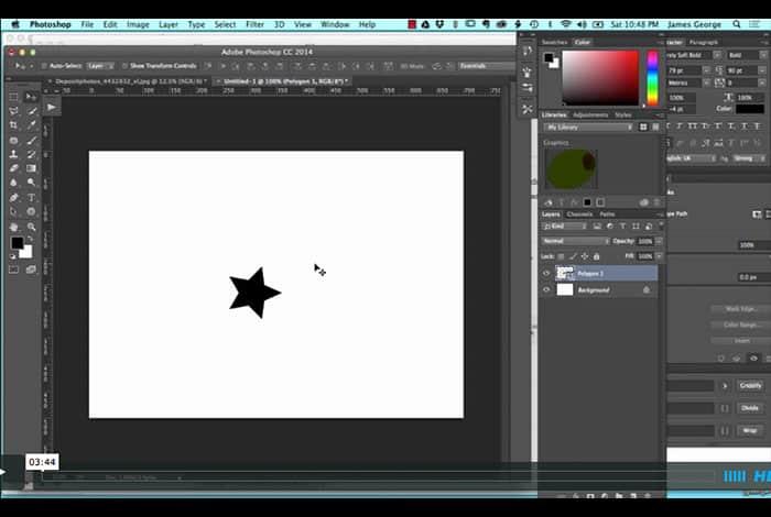 Polygon Tool Tricks in Photoshop