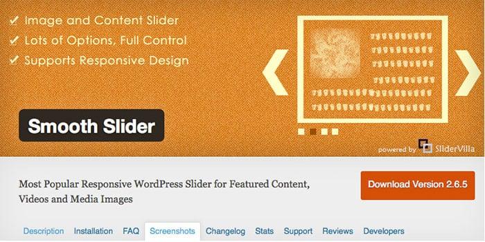 Free jQuery Slider Plugins smooth-slider