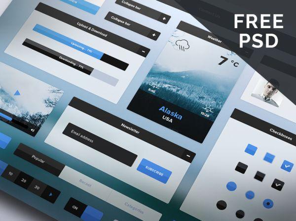 Free UI Kits November 2014
