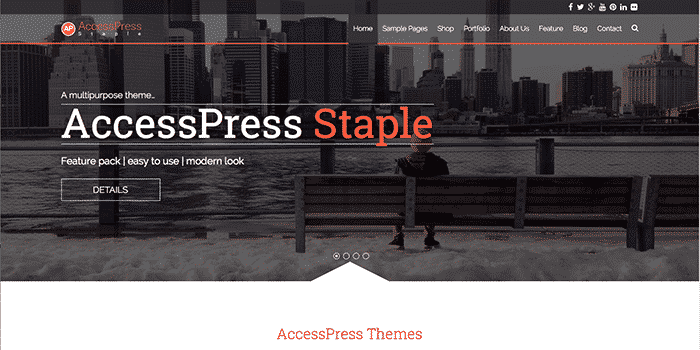 AccessPress Free WordPress Theme