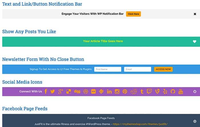 WP Notification Bar: Your New Notification Powerhouse