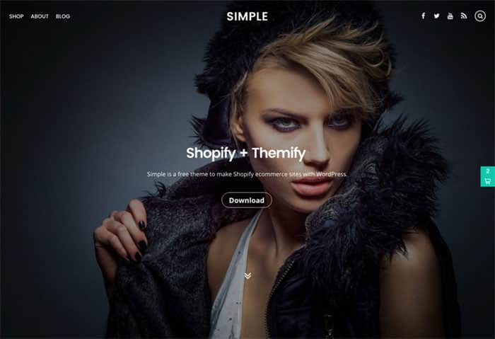 Simple Free WordPress theme of the Week