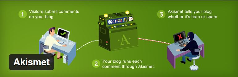 akismet - Must Have Plugins for spam