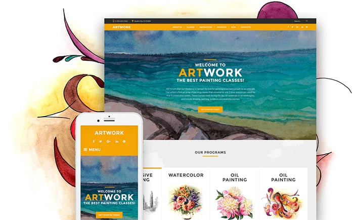 20 Beautiful Art & Culture WordPress Themes with the Best-In-Class Design