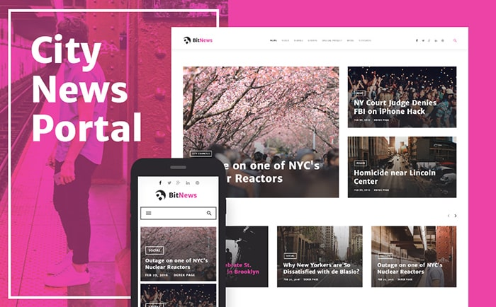10 Best Blogging Responsive WordPress Themes