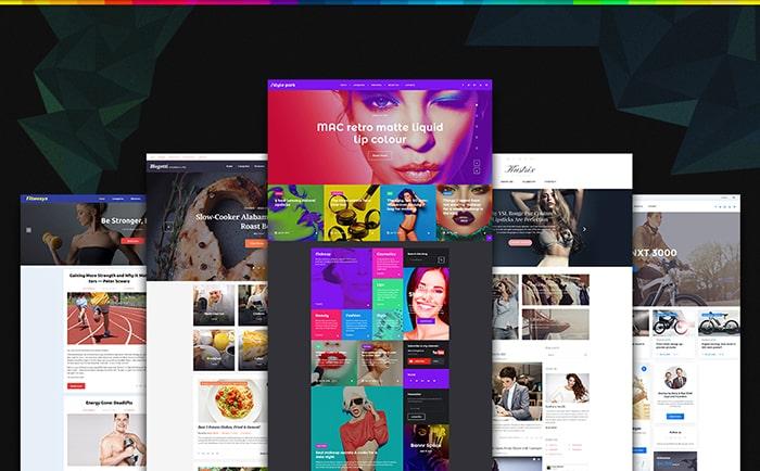GPL WordPress Themes Bundle