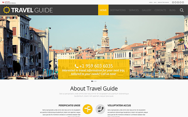 Grow Your Business with Top 30 Sports & Travel WordPress Themes