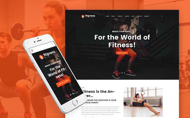 Fitness WP Theme
