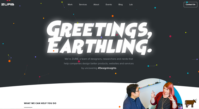 Zurb Redesign: Their Company Website Streamlined